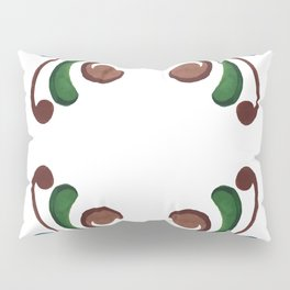 Colorful Watercolor Ornamental Pattern Pillow Sham