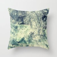 grunge Throw Pillows featuring Grunge by Amanda Roof