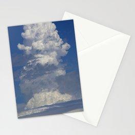 Epic Cloud Event Arising Upward Toward Eternity Stationery Cards