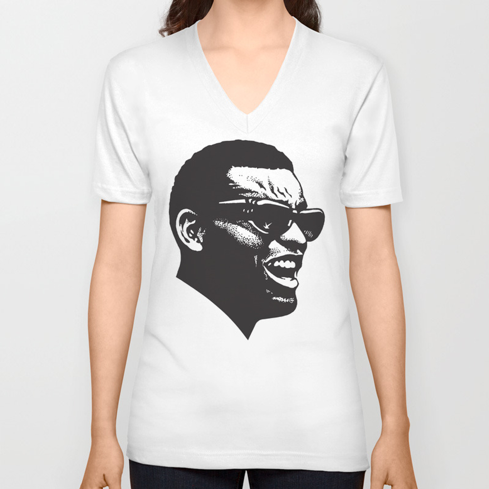 Brother Ray Unisex V-neck by Midnightstudio VNT8845857