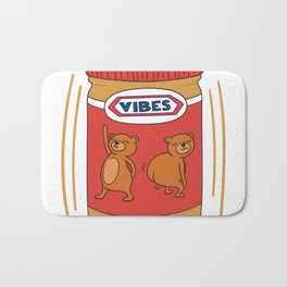 Peanut Butter Vibes - Crunchy Bath Mat