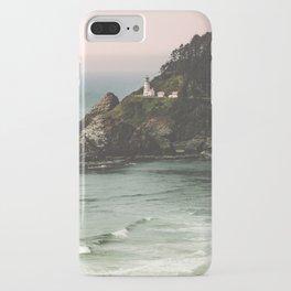 Pacific Northwest Grandeur - Heceda Lighthouse iPhone Case