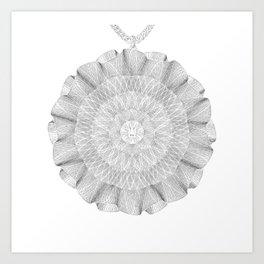 Spirobling XII Art Print