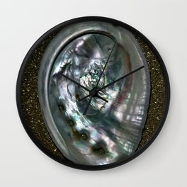 OysterInGold Wall Clock