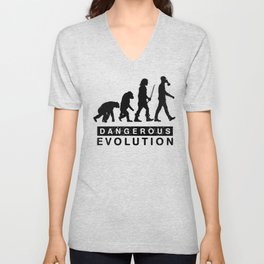 Dangerous Evolution Unisex V-Neck