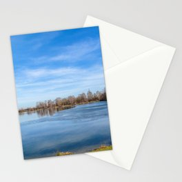 DE - Baden-Württemberg : View to the lake Stationery Cards