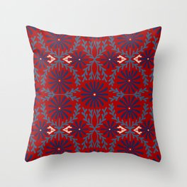 Japanese Styles Pattern 4 Throw Pillow