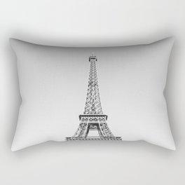 Eiffel Tower, Paris, France Rectangular Pillow
