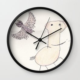 Wise Africa Wall Clock