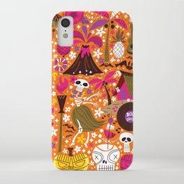 Tiki Freaks do the Hulaween iPhone Case