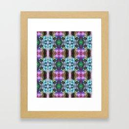 Neurotransmitted Daydreams (Pattern 2) Framed Art Print
