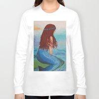 marina Long Sleeve T-shirts featuring Marina by Ashalika