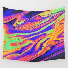 EYES ON FIRE Wall Tapestry