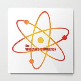 the Vengeance Formulation - Season 3 Episode 9 - the BB Theory - Sitcom TV Show Metal Print