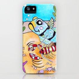 Goby & Pistol Shrimp iPhone Case