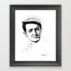 Woody Guthrie Framed Art Print