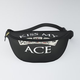 poker player gift as funny poker t-shirt Fanny Pack
