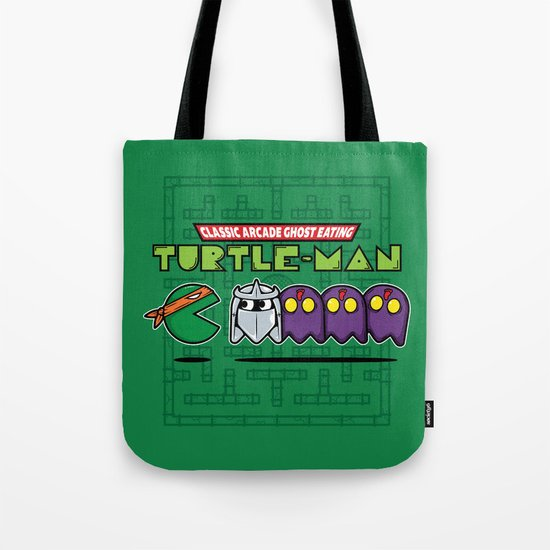 Hero in a Pac-Shell (Mikey) Tote Bag