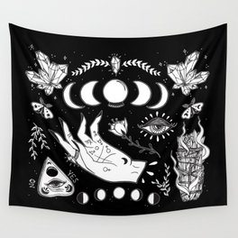 Witchcraft Art Wall Tapestry