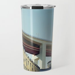 Lisboa Under The Bridge Travel Mug