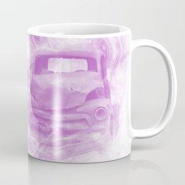 Fractured fractal kaleidoscope with car wreck Coffee Mug