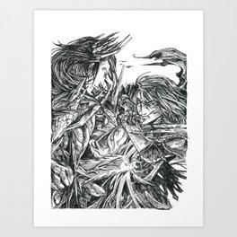 Inktober 2018: Breakable Art Print