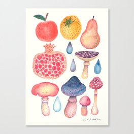 Fruits of the Woods Canvas Print