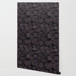 Oreo Cookie Pattern Illustration Wallpaper