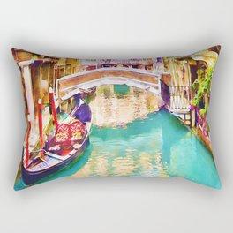 Venice Canal 2 Rectangular Pillow
