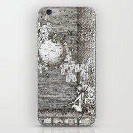 I'll reach you someday iPhone Skin