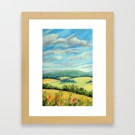 Windy Ridge Framed Art Print