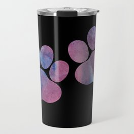 Dog Paw Prints Travel Mug