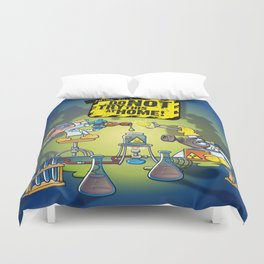 Anime 2015: Do Not Try This At Home! Duvet Cover