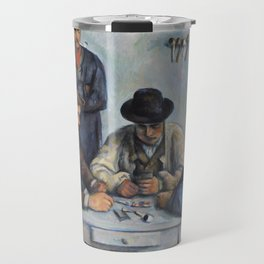 The Card Players by Paul Cézanne Travel Mug