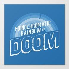 Rainbow of DOOM Canvas Print