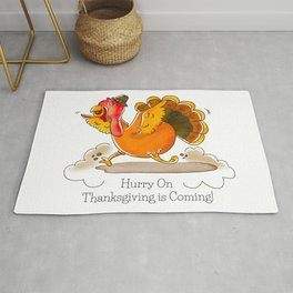 Hurry On Thanksgiving Is Coming! Rug