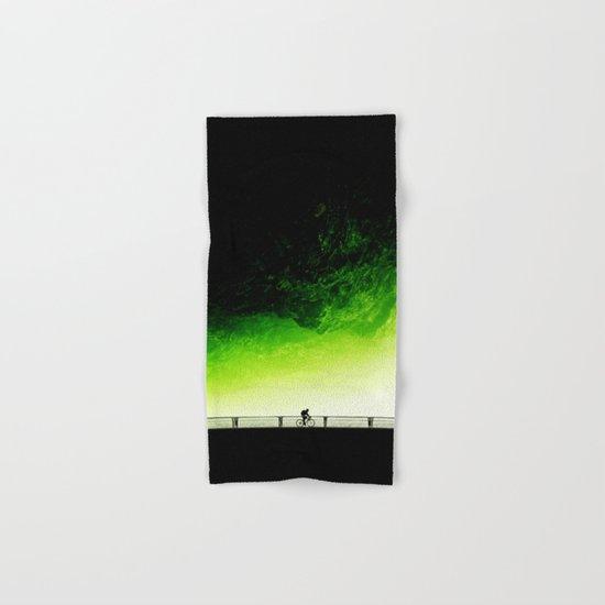 Toxic bicycle Hand & Bath Towel