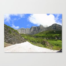 Peaks and Glaciers Canvas Print