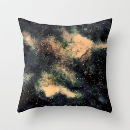 Dreamy Cloud Galaxy Throw Pillow