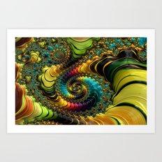 Ultra Fractal I Art Print