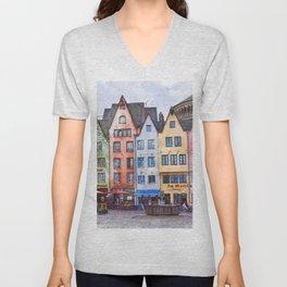 Colors of Germany Unisex V-Neck
