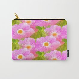 Flowers In The Grass Carry-All Pouch