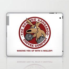 Boxing Kangaroo Coffee Company Laptop & iPad Skin
