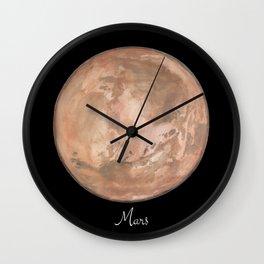 Mars #2 Wall Clock