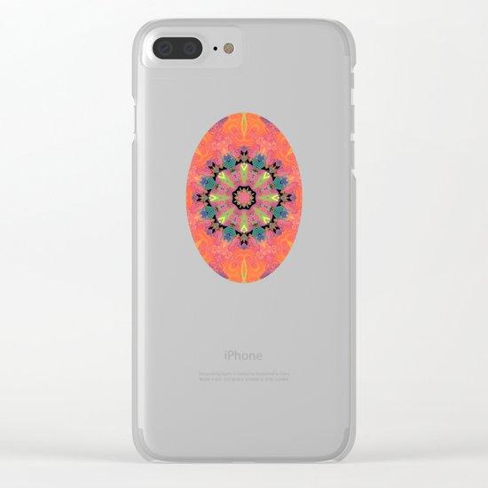 Mardi Gras Clear iPhone Case
