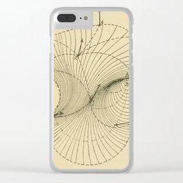 Fluid Dynamics Clear iPhone Case