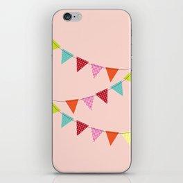 Hooray for girls! iPhone Skin