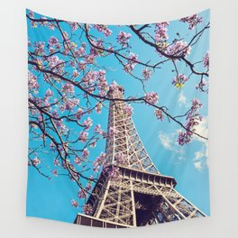 Springtime in Paris Wall Tapestry
