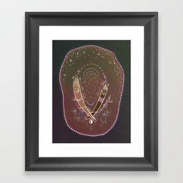 Intergalactic Chi Framed Art Print