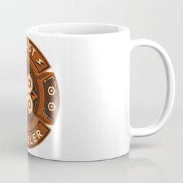 Cyclist and Traveler Coffee Mug